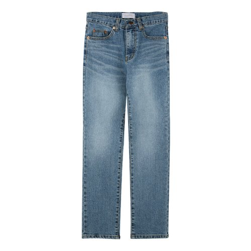 iuw603 bluming straight fit denim pants (blue)