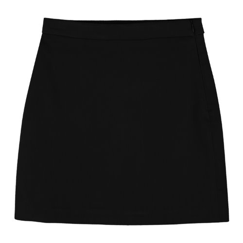 iuw926 rayon mini skirt (black)