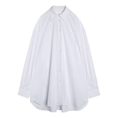 iuw0020 wide shirts dress (white)