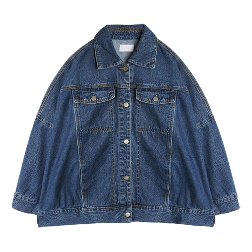 iuw0036 oversized denim jacket