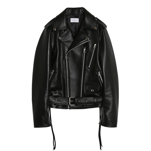 (양가죽)iuw0037 short leather jacket