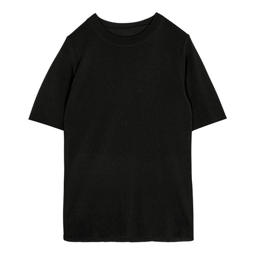 iuw0093 stretch knit (black)
