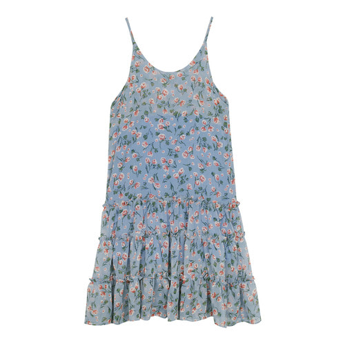 iuw0106 floral_print chiffon dress