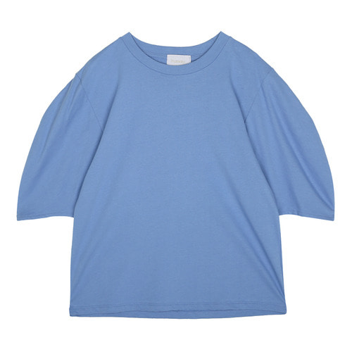 iuw0083 sleeve_puff T-shirt (blue)