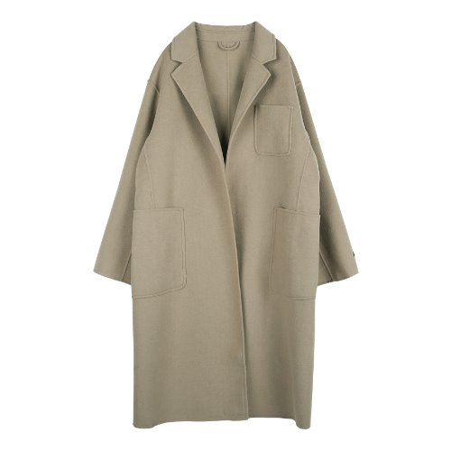 iuw242 3-pocket handmade coat (beige)