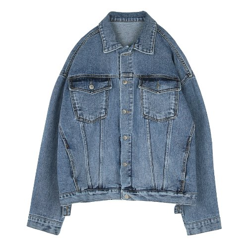 iuw310 denim jacket (blue)