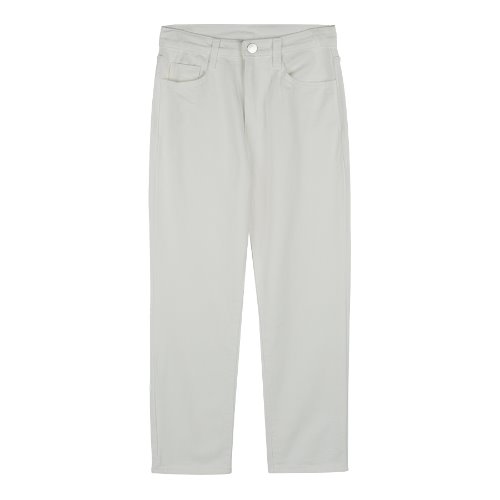 iuw321 Straight pants (white)