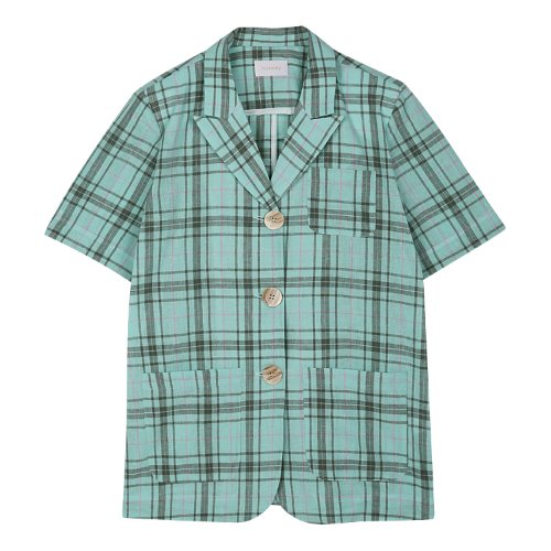iuw382 Short sleeved jacket (mint)