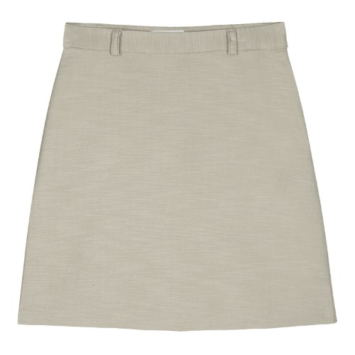 iuw582 Belt mini skirt (beige)