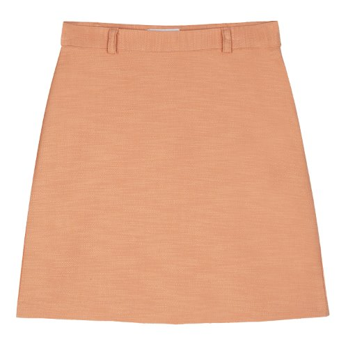 iuw366 Belt mini skirt (orange)