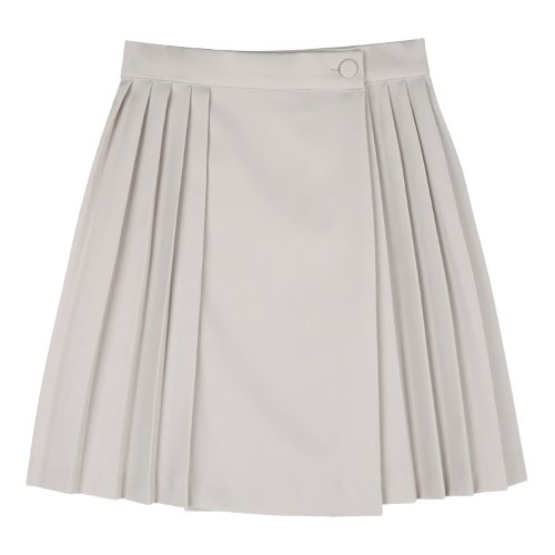 iuw666 sailor tennis skirt (beige)