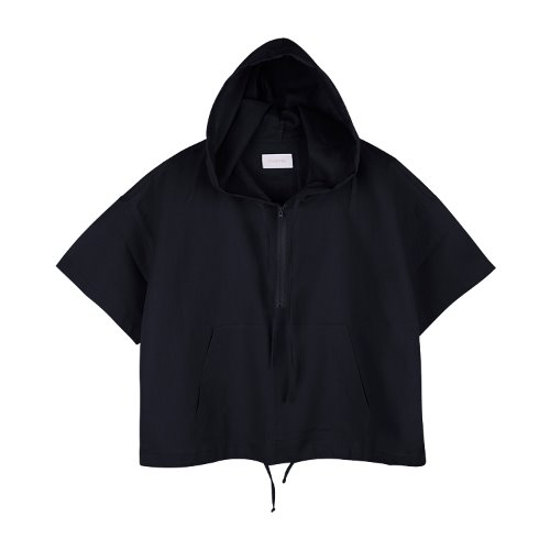 iuw765 linen anorak zip up (navy)