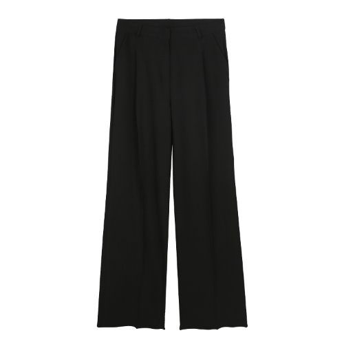 iuw836 wide slacks (black)