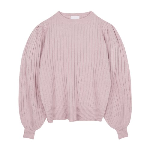 iuw832 puff knit (light purple)