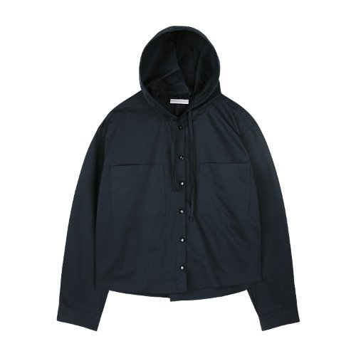 iuw804 cotton hoody shirts (navy)