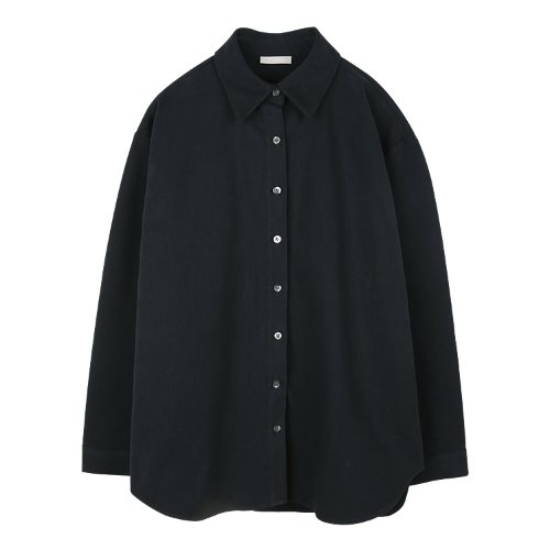 iuw845 overfit winter shirts (navy)