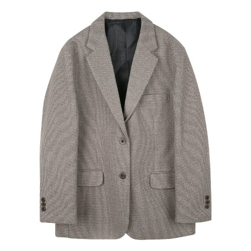 iuw874 two button single jacket (beige)