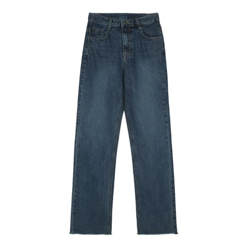 iuw867 high waist jeans (blue)