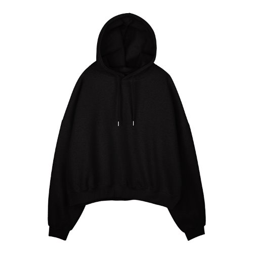 iuw856 napping box hoody (black)