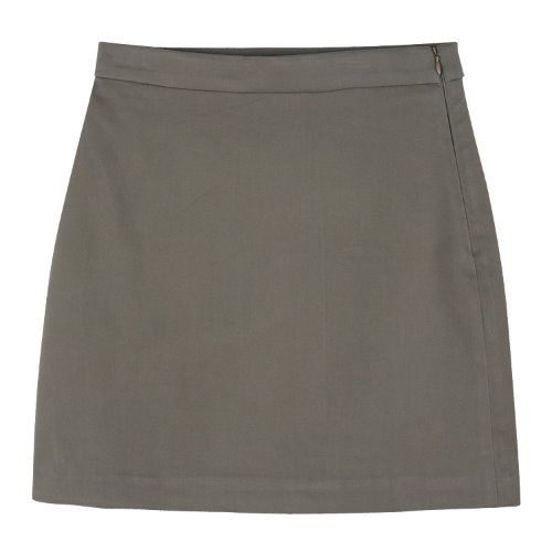 iuw927 rayon mini skirt (beige)